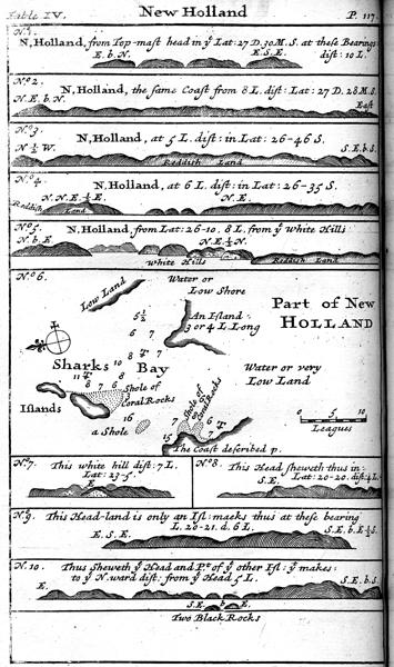Landkarte von Dampier