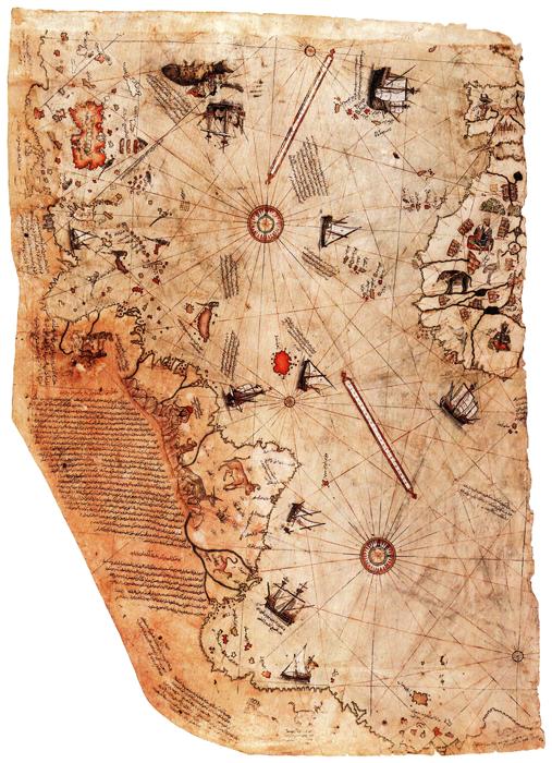 Die Piri-Reis-Karte