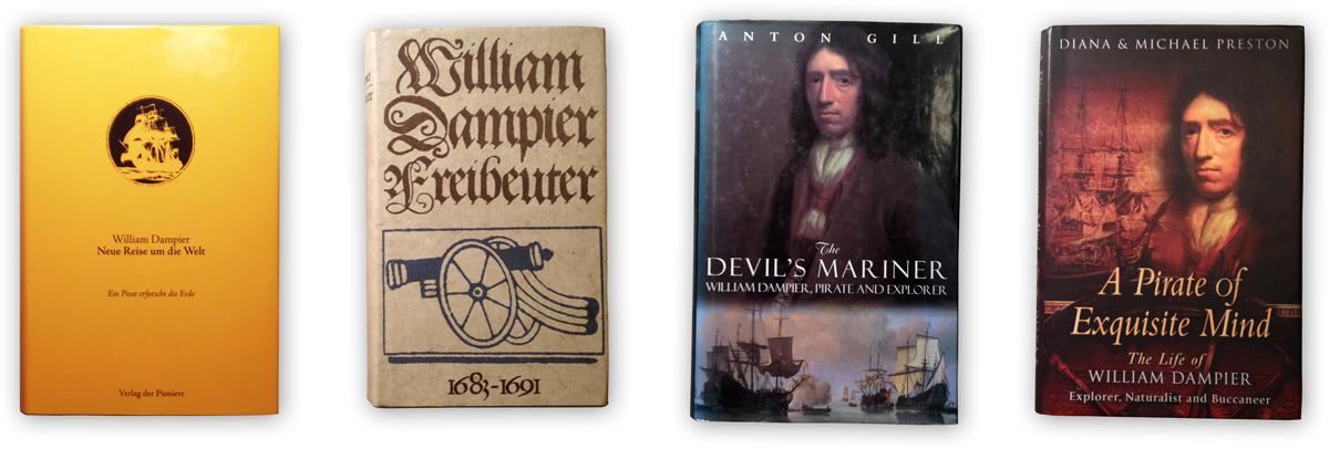 Dampier Buchcover