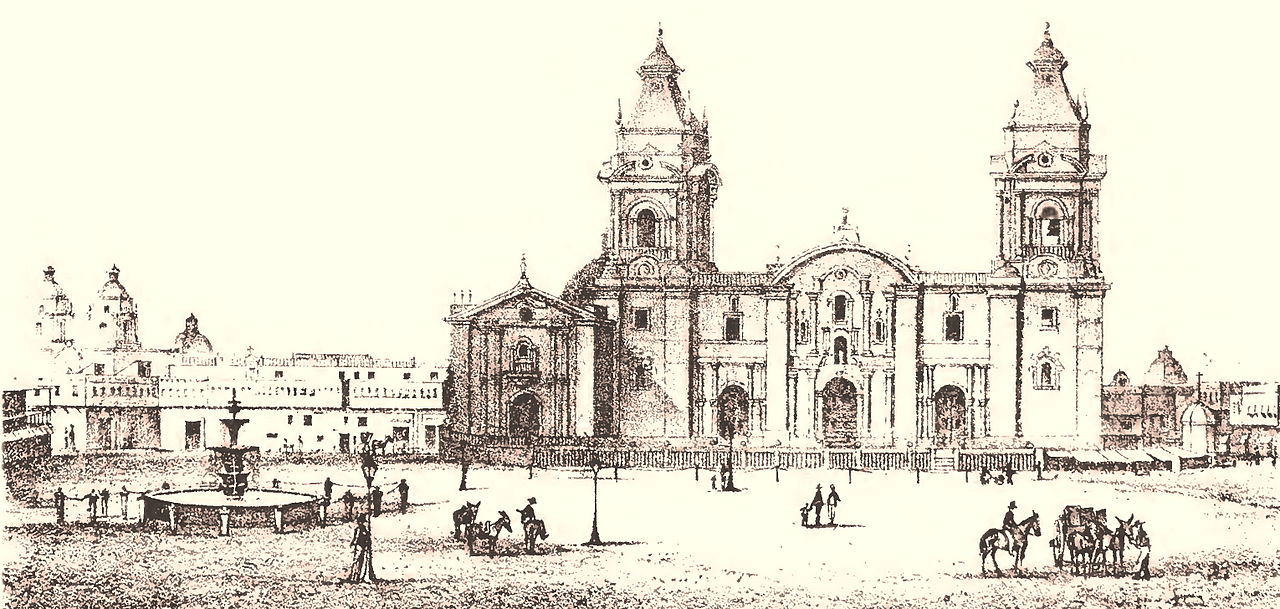Kathedrale von Lima 1854